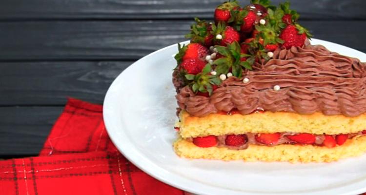 Gâteau en forme de cœur pour la saint-valentin - Har w hlow Ep 44