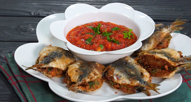 Sardines farcies à la tunisienne - Har w hlow Ep 55