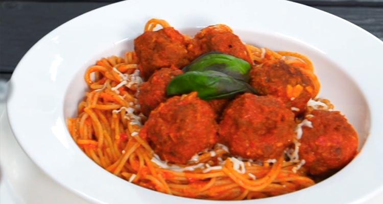 Spaghetti aux boulettes - Har w hlow Ep 53