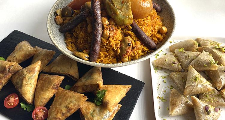 بريوات بالجبن، شوربة مفورة بالمرقاز، صمصة بالفاكية - كوجينة رمضان 4 - الحلقة 6