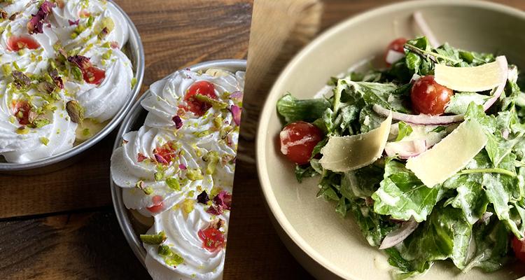 Salade fraîcheur , Chorba mfawra au poulet, Layali loubnan - koujinet romdhan 4 Ep 18
