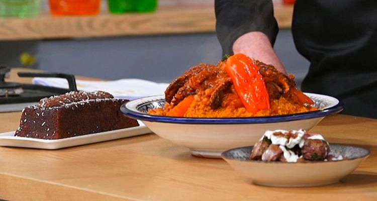 كسكسي بالقرنيط، كبد دجاج إيطالي، مرطبات بالشوكولاتة - كوجينة رمضان 4 - الحلقة 09