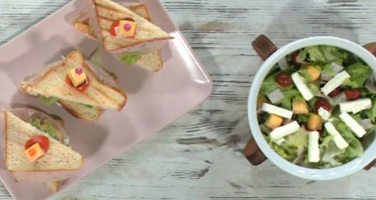 Croque monsieur, Salade - Koujina Junior 3 - Ep 22