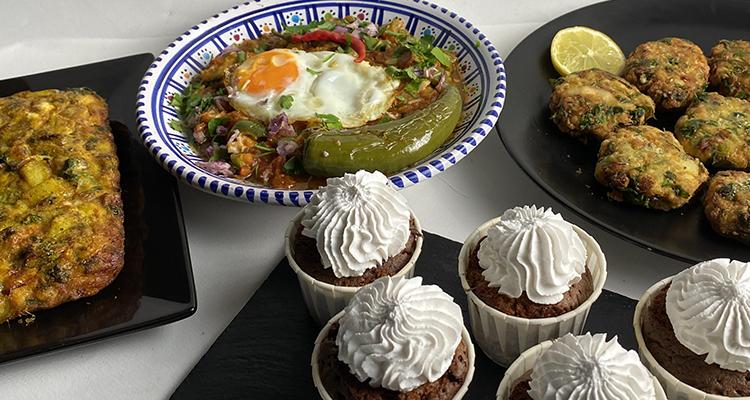 Kefta au merlan, Maâquouda au hareng, Kaftaji , Muffin chocolat - Koujinet Romdhan 4 Ep 21