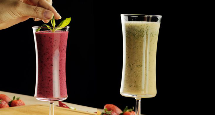 Smoothie fruits rouges, Smoothie pastèque-Ananas