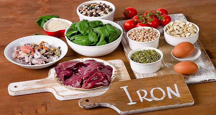 أبرز مصادر الحديد