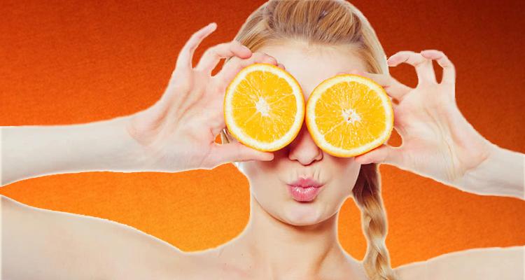 فوائد قشر البرتقال على البشرة