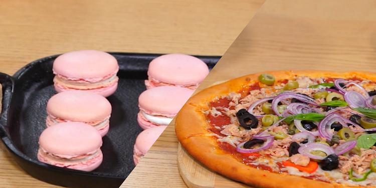 Macaron،Pizza - Koujinet Elyoum m3a malek 04 Ep 18