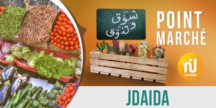 Point marché : Jedaida