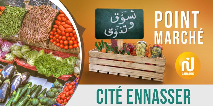 Point marché : Cité Ennasser