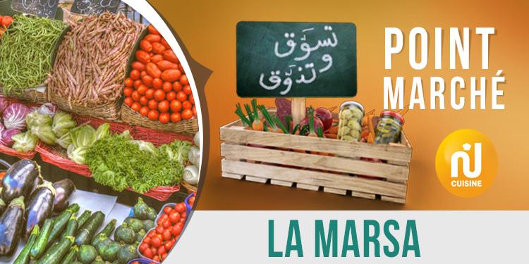 Point marché : La Marsa