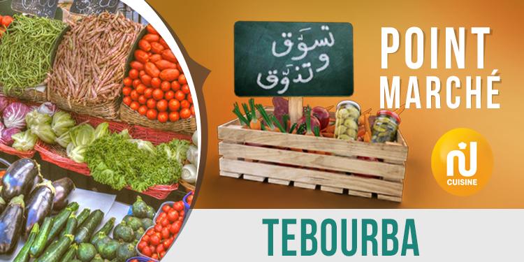 Point marché : Tebourba
