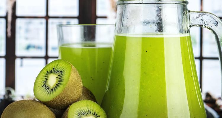 smoothie minceur banane kiwi)