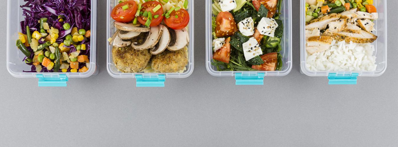 Idées de salades à apporter au bureau
