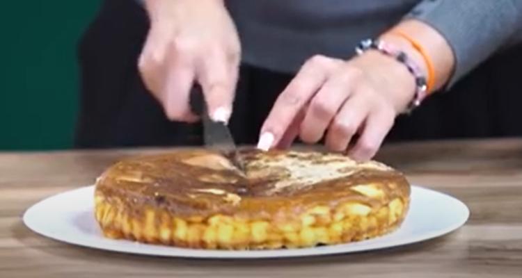 Recette de Clafoutis au jambon, tomate et fromage