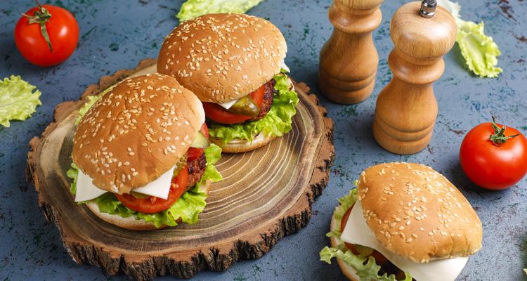 Pain Burger maison à la galette de semoule