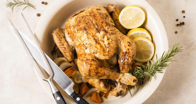 Poulet rôti au four : La meilleure recette