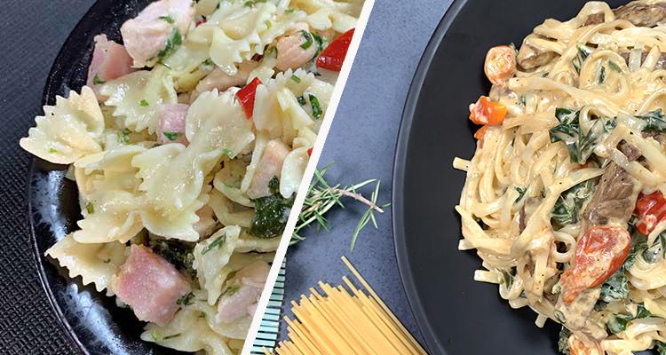 7 plats de pâtes faciles et rapides : Meilleures recettes de Bnina