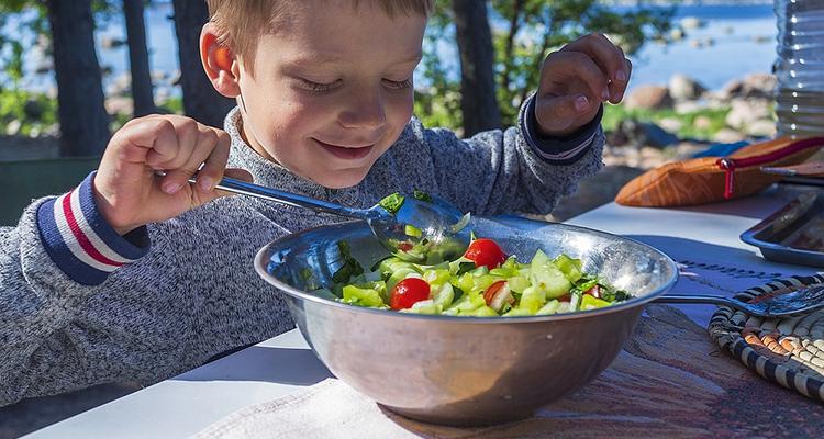 Sensibiliser les enfants au « bien manger »